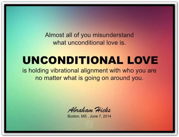 Unconditional Loving